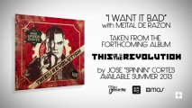 Jose Spinnin Cortes & Meital De Razon - I Want It Bad (Official Lyric Video)