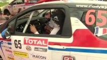 Les pilotes Rallye Jeunes au Rallye des Vins Mâcon