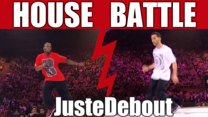 House dance battle :  Perla & Bly (Switzerland) vs ADN & Zwagga (Poland)