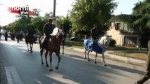 Προσομοίωση της εισόδου των τμημάτων του Ελληνικού Στρατού στην πόλη του Κιλκίς