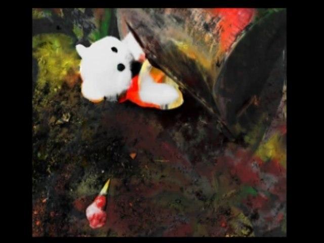 Le meurtre du nounours, die Ermordung des Teddybären, la-fontaine.tv