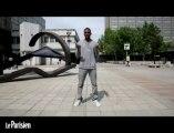 Leçon de danse avec le champion de France de breakdance