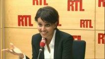 Najat Vallaud-Belkacem était l'invitée de RTLWeek-end
