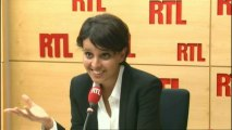 Najat Vallaud-Belkacem était l'invitée de RTLWeek-end