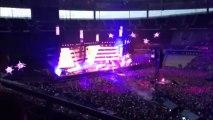 Extraits du concert de Muse au Stade de France 21 juin 2013 (The 2nd law tour)