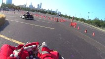Go Karting with the Sony Action Cam