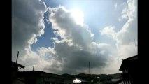 Rainy sky time lapse Sendai-shi Aoba-Ku  微速度撮影の仙台市青葉区の梅雨空