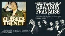 Charles Trenet - La romance de Paris - Remastered