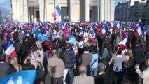 Manif pour Tous soutien au manifestant incarcéré Nicolas Bernard-Buss / Paris 21 juin 2013 ©2013