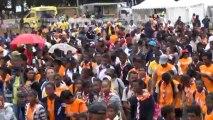 Marathon international Orange et  Fun Run 2013  - Depart du Fun run