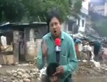 FUNNY BEEPER OF INDIAN REPORTER DURING FLOODS