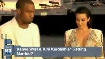 Kim Kardashian News Pop: Kanye West & Kim Kardashian Getting Married?