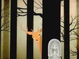 Une histoire d'une amitié entre un cerf et une petite fille fantôme.