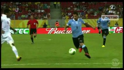 Luis Suarez Goals vs Tahiti