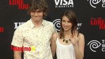 Emma Roberts and Evan Peters THE LONE RANGER Premiere Arrivals DISNEY CALIFORNIA ADVENTURE PARK
