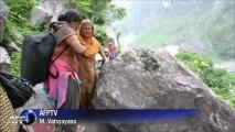 Inde: le mauvais temps ralentit l'accès aux survivants