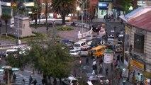 Temps flou - Bolivie La Paz Plaza Estudientes Vue de la fenêtre – Extrait
