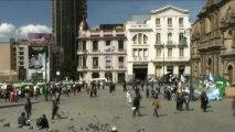 Temps flou - Bolivie La Paz Plaza San Francisco – Extrait