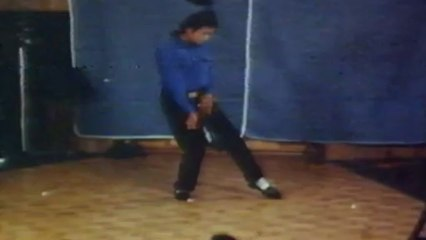 Never-seen-before footage of Michael Jackson dancing