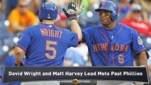 Mets Blank Phillies; Mariners Walk Off