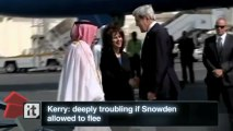 Edward Snowden Breaking News: Kerry: Deeply Troubling If Snowden Allowed to Flee