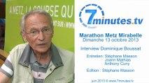Marathon Metz Mirabelle : un parcours encore plus agréable - Dominique Boussat