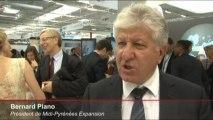 Salon du Bourget 2013 : interview de M. Bernard Plano Président de Midi-Pyrénées Expansion