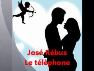 JOSE REBUS ( Le télèphone ) - YouTube 974
