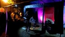 Trio piano voix percu à la fête de la musique de Trôo 2013
