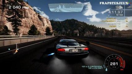 [Vidéo Détente] Need For Speed Hot Pursuit - Quelques courses à 4