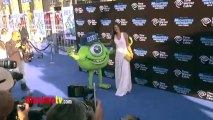 "Alessandra Ambrosio ""Monsters University"" World Premiere Blue Carpet Arrivals"
