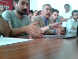 CHP Gölbaşı İlçe Başkanı Ercan Şimşek Basın Açıklaması