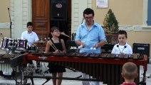 Semaine de la musique 2013 : La classe de percussions  morceau 3