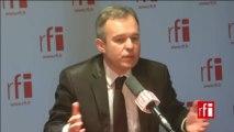 François De Rugy, député Europe écologie-Les Verts (EELV) de Loire-Atlantique et co-président du groupe écologiste à l'Assemblée nationale