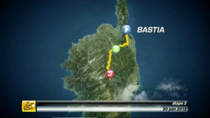 Cature d'écran d'une vidéo du site du Tour de France