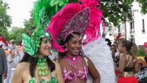 Bloco de Paris au Carnaval Tropical 2012 - Echauffement