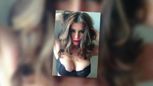 Imogen Thomas Strips Down to a Sexy Bra
