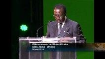 DISCOURS - Idriss Déby - Tchad