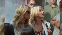 Cameron Diaz and Kate Upton in New York