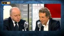 """Laurent Fabius: """"La formulation de Montebourg, à l'égard de Barroso, peut être discutée"""" - 26/06"""