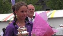 Léa Romain, championne de France 13-14 ans
