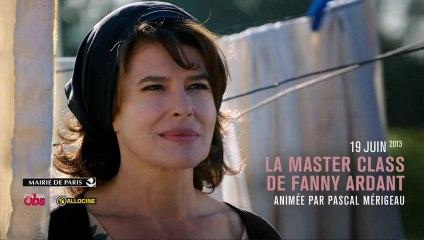 La Master class de Fanny Ardant
