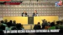 Rueda de prensa de Ancelotti como nuevo entrenador del Real Madrid  (2de5)