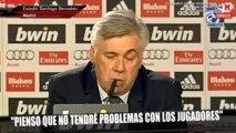 Rueda de prensa de Ancelotti como nuevo entrenador del Real Madrid  (5de5)