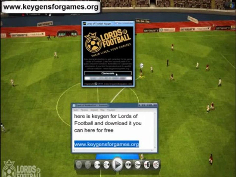 Lords of Football Keygen + Crack Free