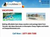 Cheap Flights to Canada USA|Airfares in Toronto-Cheapairfaresweb.com
