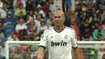 Ancelotti and Zidane together as coaching Real Madrid