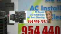 Air Conditioning Service Fort Lauderdale