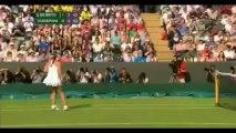 Wimbledon 2013 - Moaning Contest: Maria Sharapova v Michelle Larcher de Brito