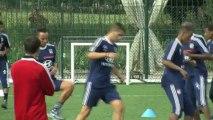 Reprise de l'entraînement pour l'Olympique lyonnais